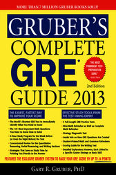Gruber's Complete GRE Guide 2013 by Gary Gruber