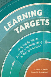 Learning Targets by Connie M. Moss