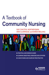 A Textbook of Community Nursing by Sue Chilton