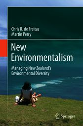 New Environmentalism by Chris R. de Freitas