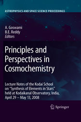 Principles and Perspectives in Cosmochemistry by Aruna Goswami