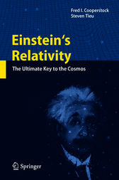 Einstein's Relativity by Fred I Cooperstock