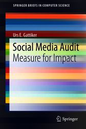 Social Media Audit by Urs E. Gattiker