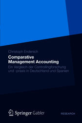 Comparative Management Accounting by Christoph Endenich