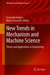 New Trends in Mechanism and Machine Science by Fernando Viadero-Rueda