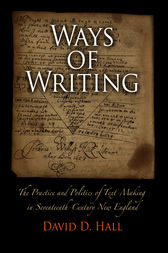 Ways of Writing by David D. Hall