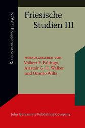 Friesische Studien III by Volkert F. Faltings