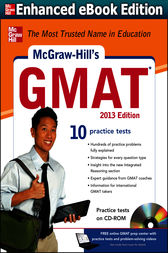 McGraw-Hill's GMAT 2013, 2013 Edition