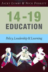 14-19 Education by Jacky Lumby