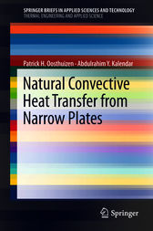 Natural Convective Heat Transfer from Narrow Plates by Patrick H. Oosthuizen