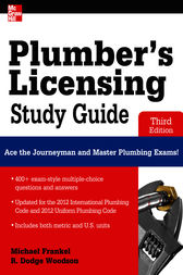 Plumber's Licensing Study Guide, Third Edition by Michael Frankel