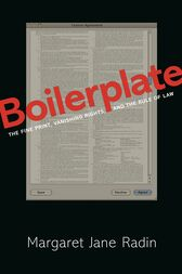Boilerplate by Margaret Jane Radin