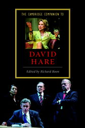 The Cambridge Companion to David Hare by Richard Boon