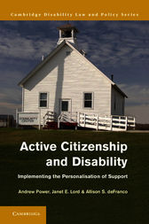 Active Citizenship and Disability by Andrew Power