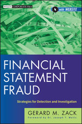 Financial Statement Fraud by Gerard M. Zack