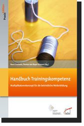Handbuch Trainingskompetenz by Horst Scarbath