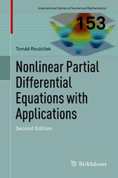 Nonlinear Partial Differential Equations with Applications by Tomáš Roubícek