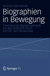 Biographien in Bewegung by Andreas Oskar Kempf