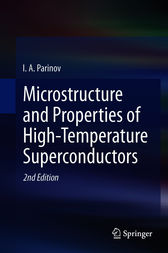 Microstructure and Properties of High-Temperature Superconductors by Ivan Parinov