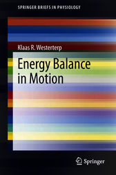 Energy Balance in Motion by Klaas R. Westerterp
