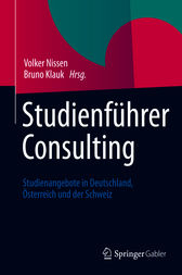 Studienführer Consulting by Thomas Deelmann