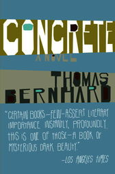 Concrete by Thomas Bernhard