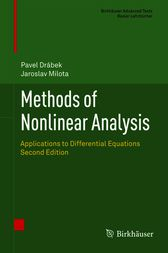 Methods of Nonlinear Analysis by Pavel Drabek