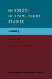 Handbook of Translation Studies by Yves Gambier