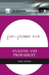 Analysis and Probability by Aurel Spataru