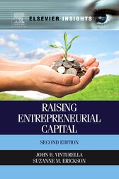 Raising Entrepreneurial Capital by John B. Vinturella