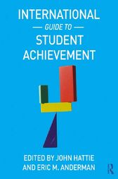 International Guide to Student Achievement by John Hattie