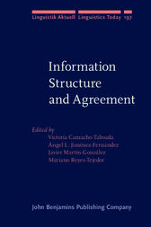 Information Structure and Agreement by Victoria Camacho-Taboada