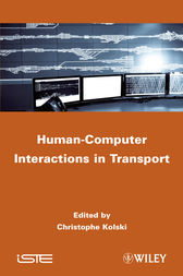 Human-Computer Interactions in Transport by Christophe Kolski
