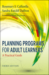 Planning Programs for Adult Learners by Rosemary S. Caffarella