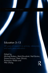 Education 3–13 by Mark Brundrett