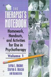 The Therapist's Notebook by Lorna L Hecker
