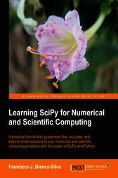 Learning SciPy for Numerical and Scientific Computing by Silva;  Javier Blanco Francisco