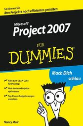 MS Project 2007 für Dummies by Nancy C. Muir