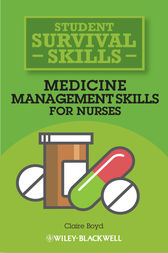 Medicine Management Skills for Nurses by Claire Boyd