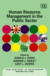 Human Resource Management in the Public Sector by Ronald J. Burke