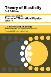 Theory of Elasticity by L D Landau
