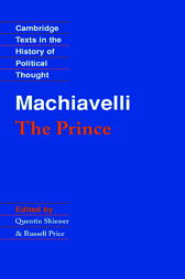 an analysis of the prince a book by niccolo machiavelli At the peak of the italian renaissance, niccolo machiavelli wrote a brutally   machiavelli's book of advice to leaders, the prince, differed from others of the   nicolo machiavelli includes biography and analyses of the prince and other  works.