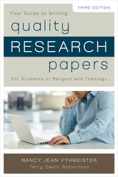 Vyhmeister quality research papers