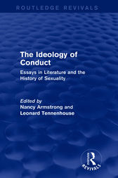 the ideology of conduct essays on literature and the history of sexuality