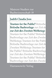Trustees for the Public? by Judith C Joos