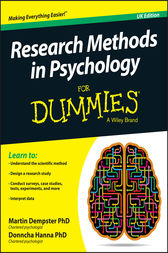 Research methods for dummies