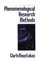 Phenomenological Research Methods by Clark Moustakas