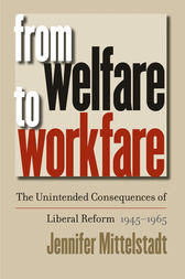 An analysis of the philosophy of workfare societys restraint to social reform