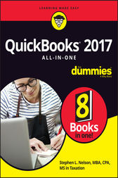 QuickBooks 2017 All-In-One For Dummies by Stephen L. Nelson