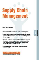 Supply Chain Management by Amy Zuckerman